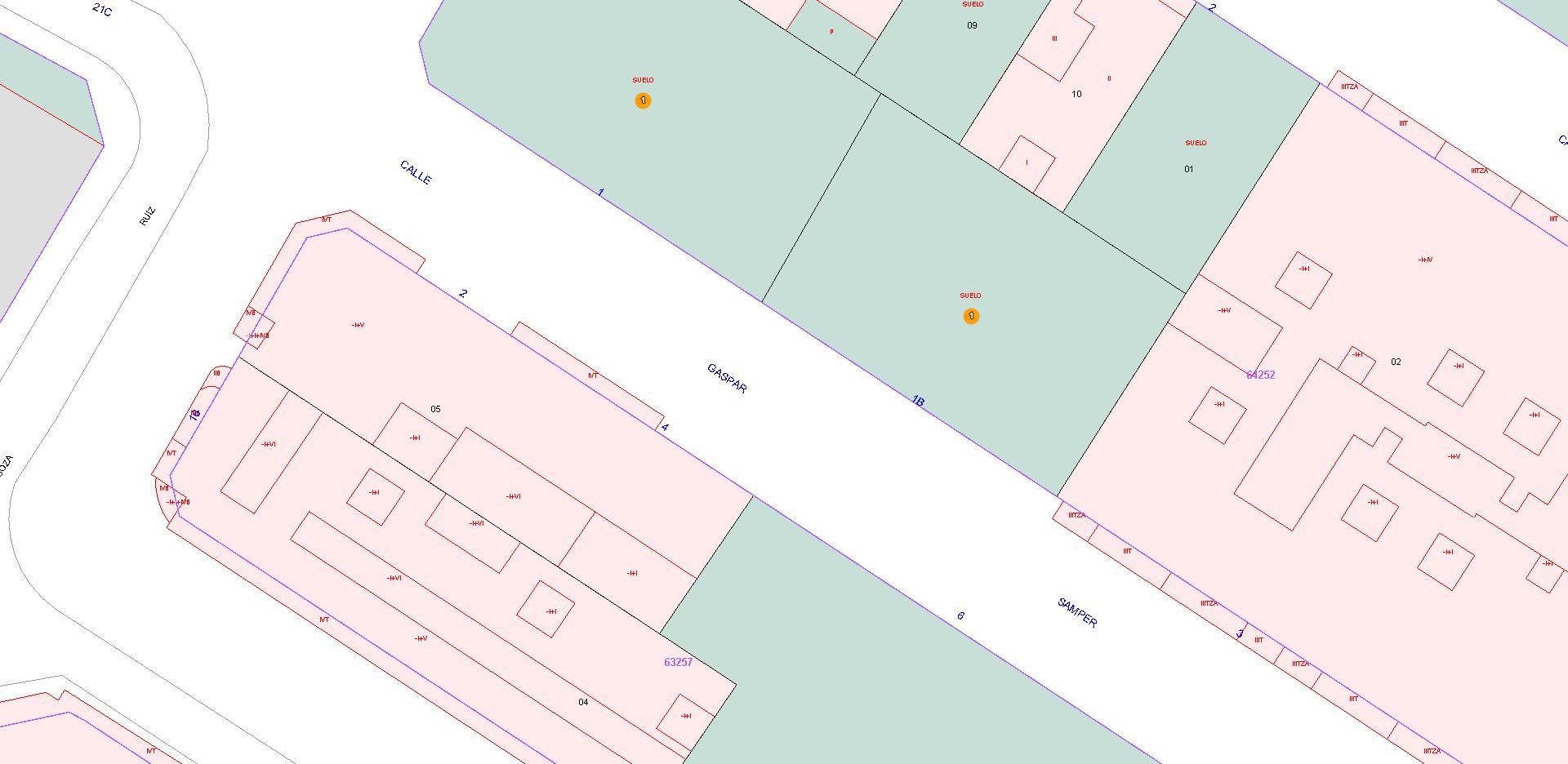 Solar de 446 m2 en el centro de Callosa del Segura